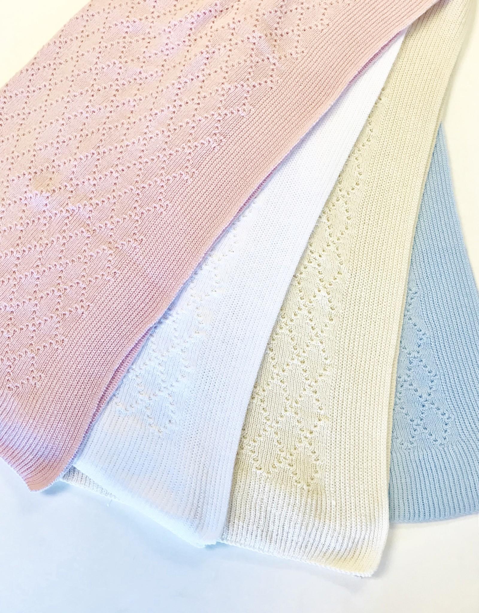 Knitknacks Knit Blanket Diamonds Knitknacks