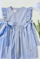 Petitbebe Mini Check Pinafore Dress