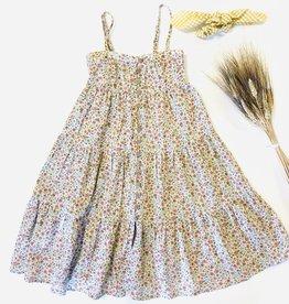 Rylee + Cru Long Floral Sundress 2/3-8/9