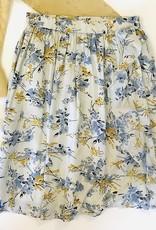 Creamie Print Rayon Skirt
