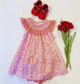 Luli Berry Floral Dress 3m-9m