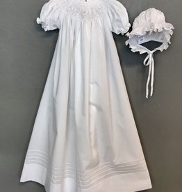 Willbeth Bishop Pearl Smock Gown