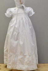 Feltman Embroidered Smocked Gown