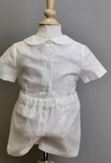 Luli Silk Organza Button Shortset 3m-24m