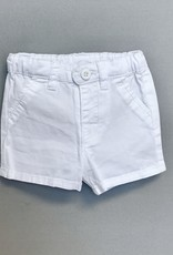 Mayoral White Twill Short N/B-6M