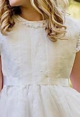 Luli Dress-White silk organza-Luli 7-14 1011