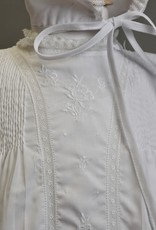 Feltman Gown Wht Embriodered panel