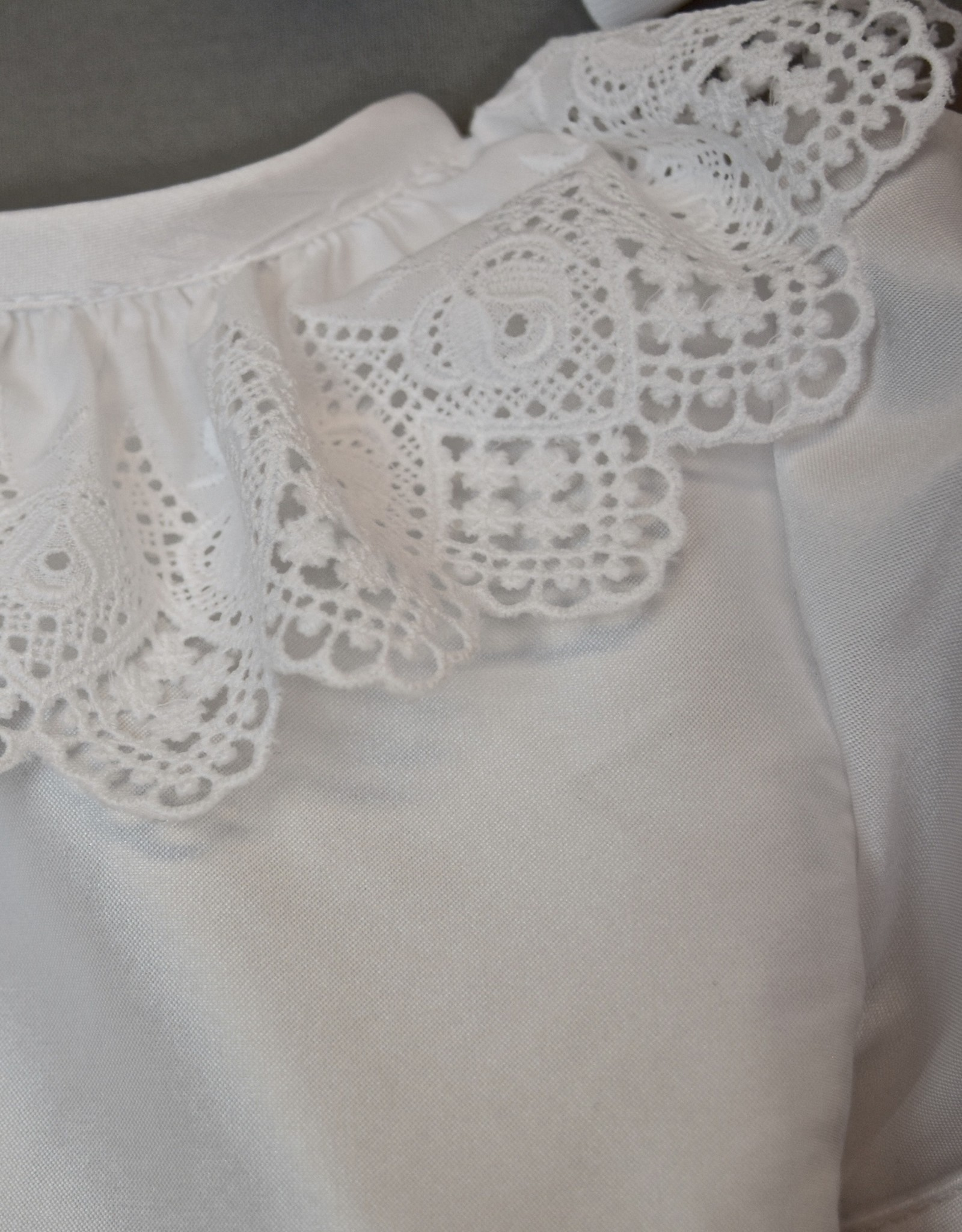Susanne Lively Dupioni  & Lace Ruffle Dress