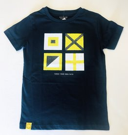 Mayoral Tee Navy Flag Print 8y - 14y