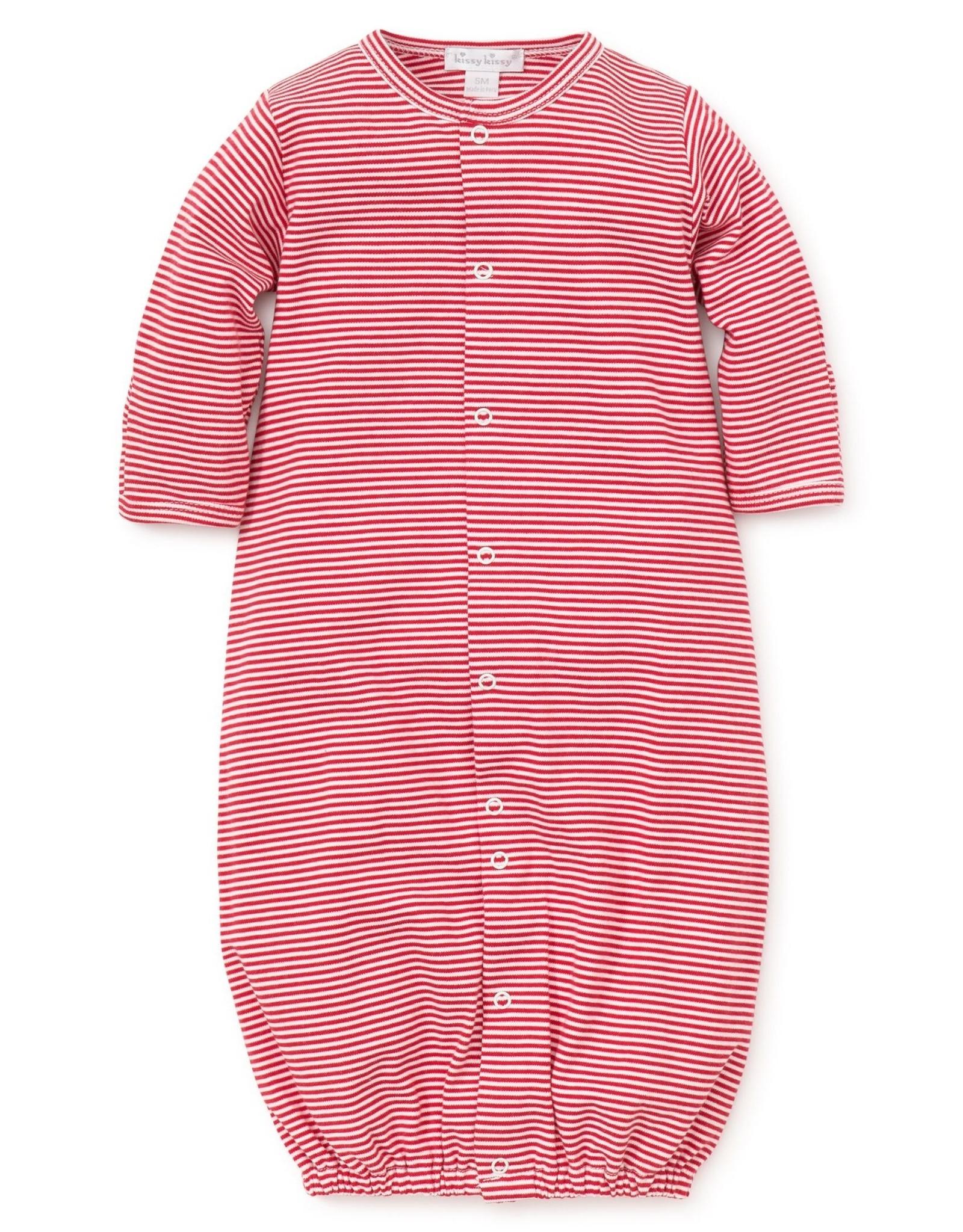 KissyKissy Stripe Gown  Blue & Pink
