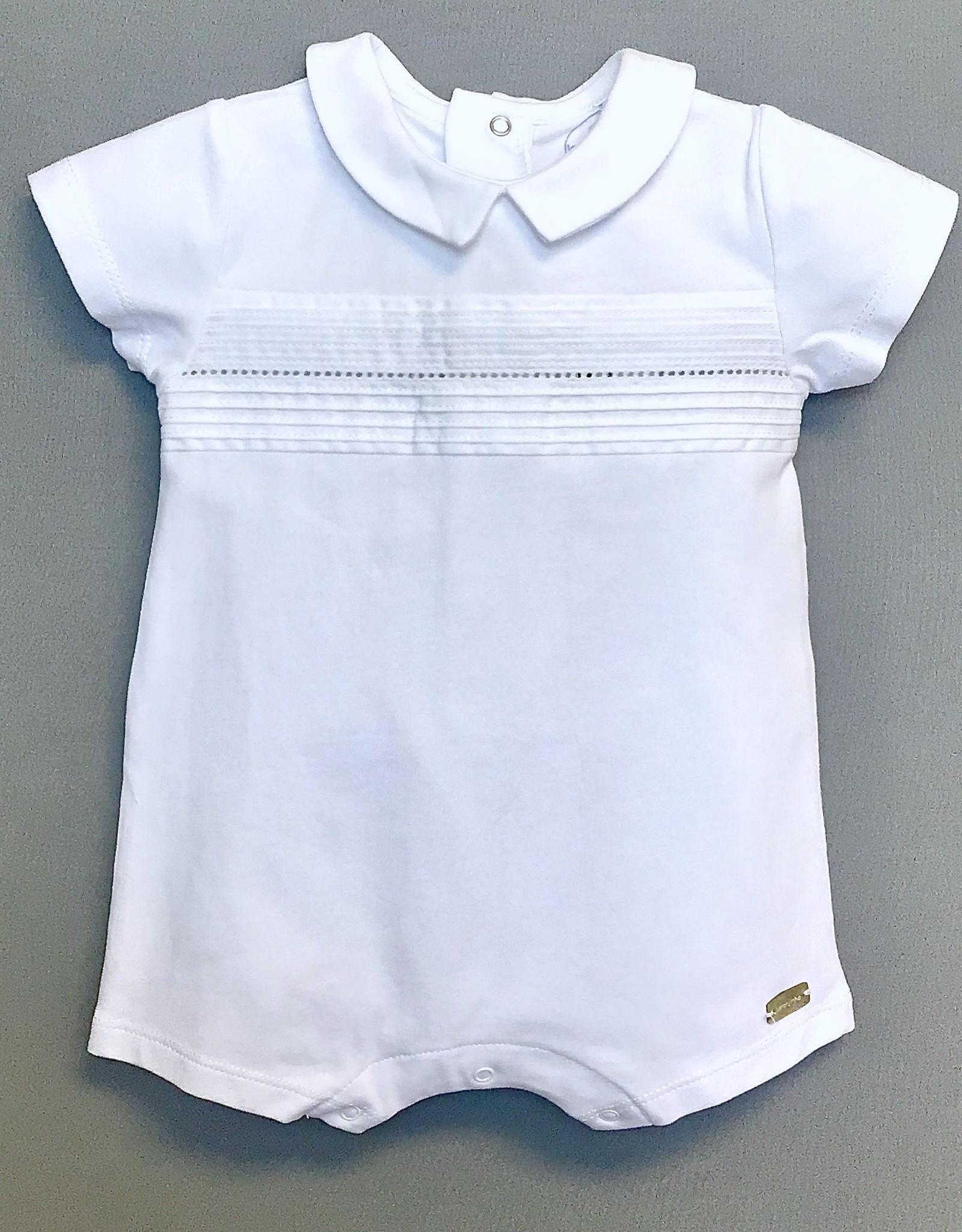 Laranjinha Infant Knit Romper