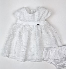 Mayoral Tulle Petals Dress NB-18m