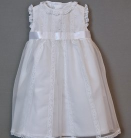 Luli Silk Organza and Lace Dress 3-24m