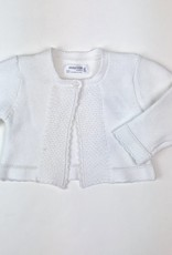 Mayoral Cardigan girls White basic one button Mayoral 325