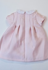Mayoral Dress Pink Taffeta Twill White  Ruffle Collar 2-4m to 12m