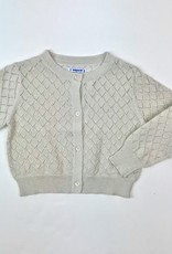 Mayoral Gold Metallic Cardigan 2-7y
