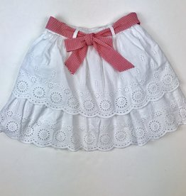 Mayoral Layered Eyelet Skirt 8-16y