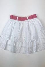 Mayoral Layered Eyelet Skirt