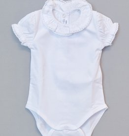 Mayoral Ruffle Collar Onesie 2-4m to 18m