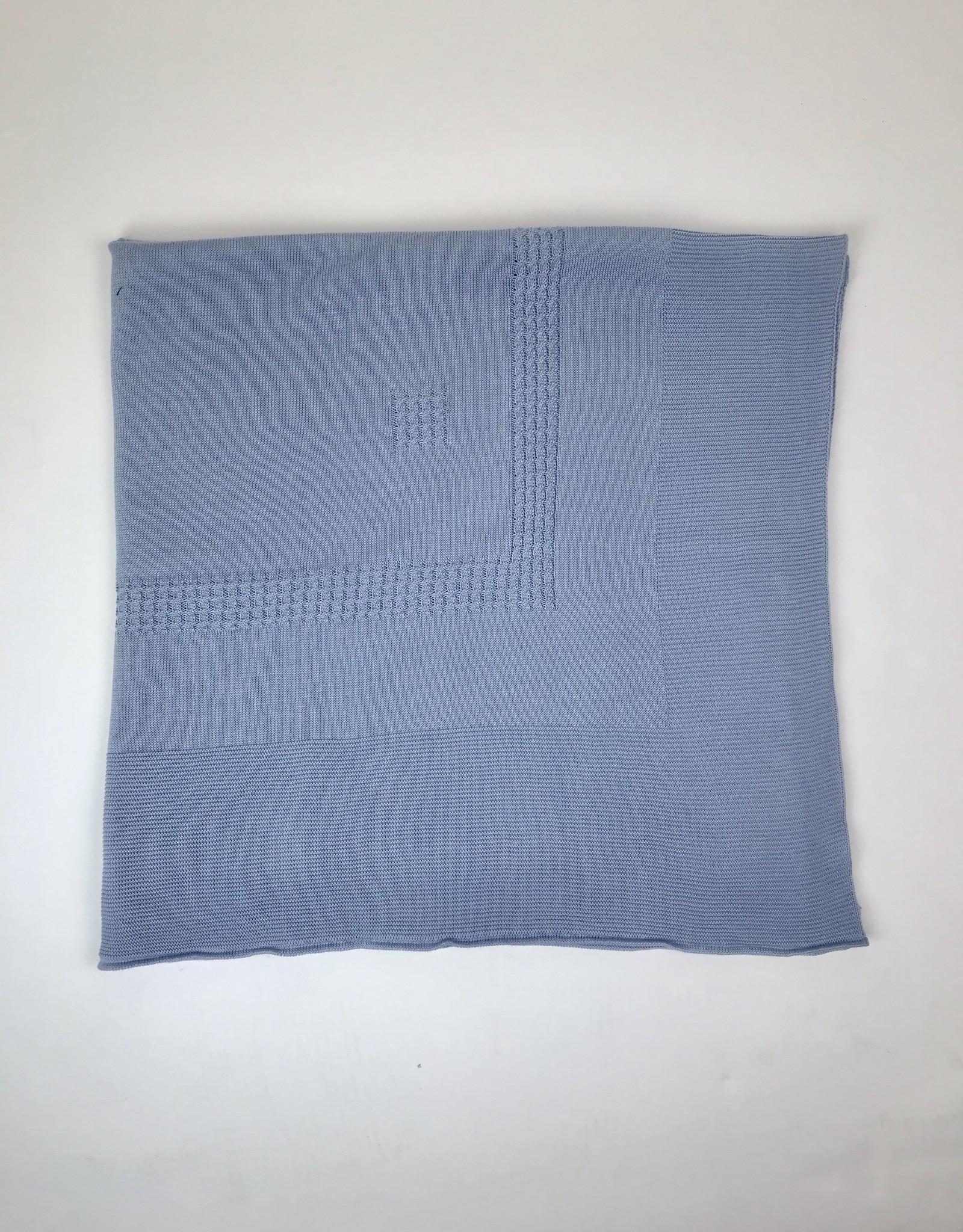 Juliana Blanket plain edge knitted Juliana