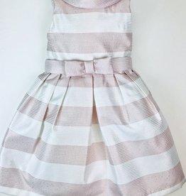 Abel & Lula Pink Stripe dress 5y-12y