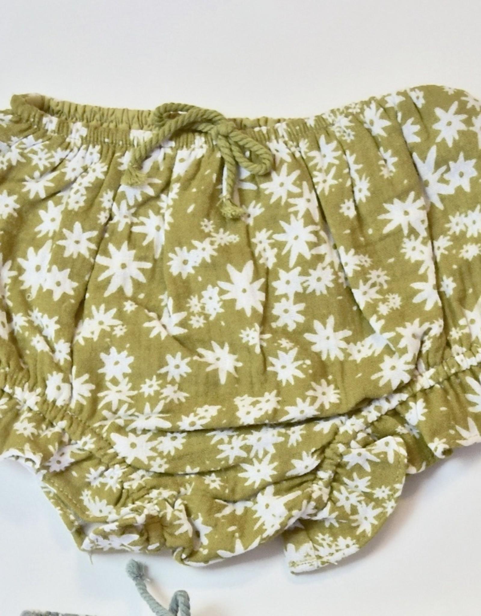 Rylee + Cru Linen Bloomer 3m-24m