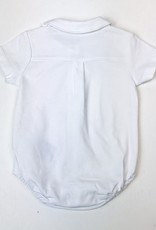 Mayoral Onesie with collar white Mayoral NB-18m
