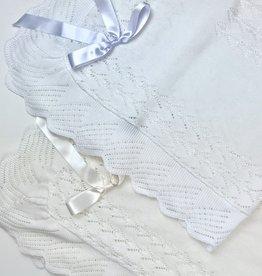 Juliana Pointelle Scallop Blanket