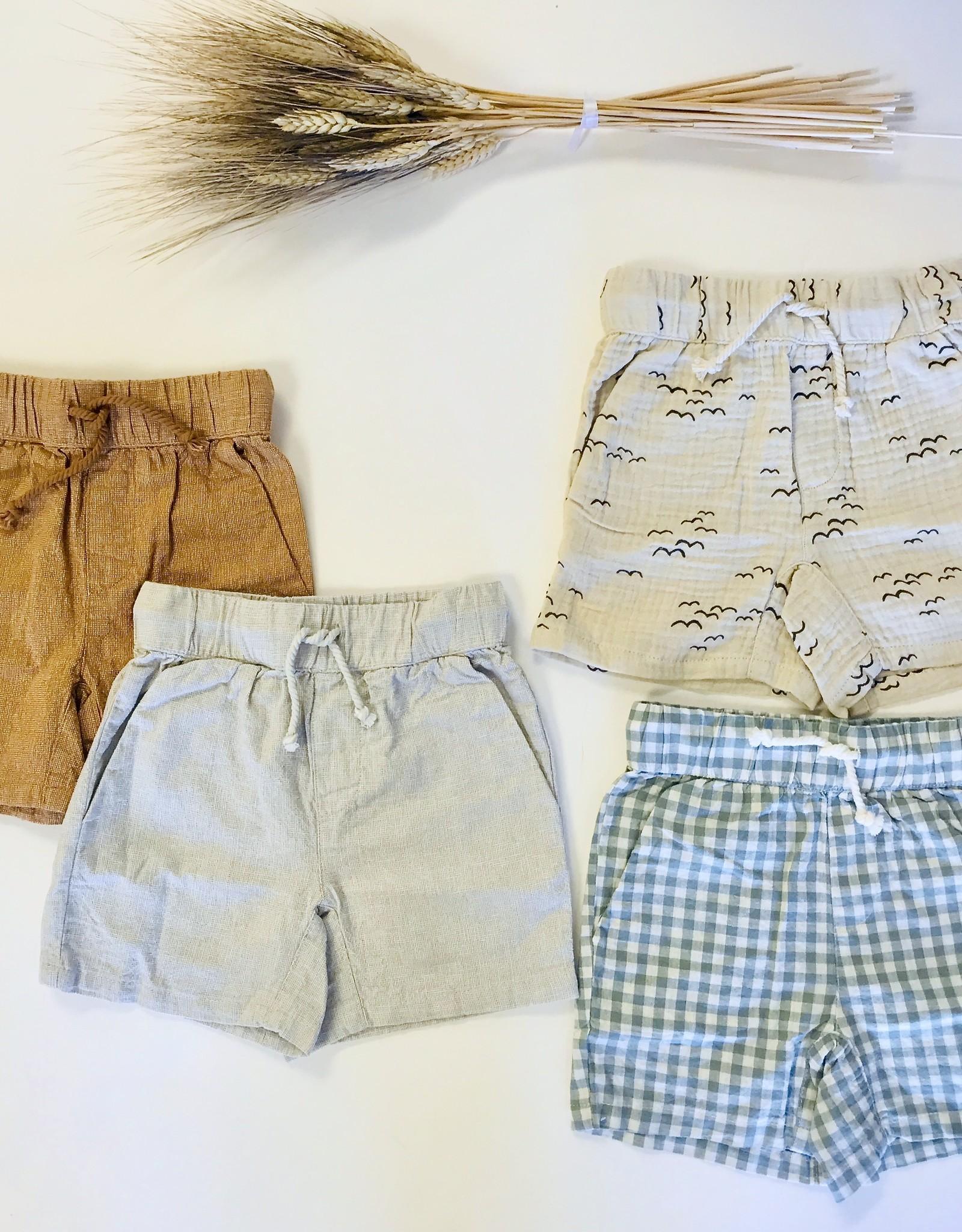 Rylee + Cru Boys Cotton Short 2/3-6/7y