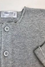 Mayoral Grey Knit Cardigan