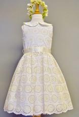 Susanne Lively Ivory Eyelet Dress 2y-12y