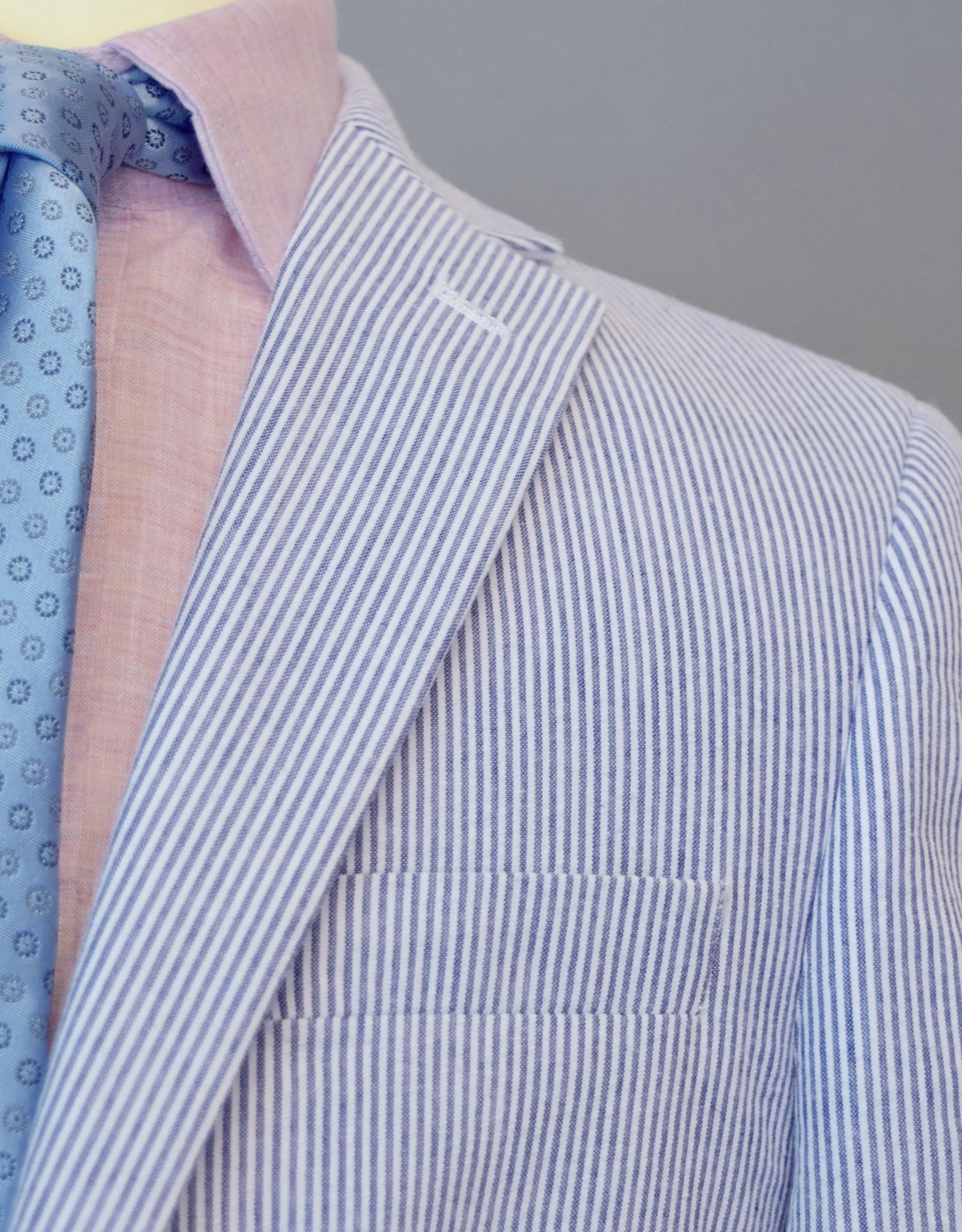 Lauren Ralph  Lauren Blue Cotton Seersucker Jacket boys
