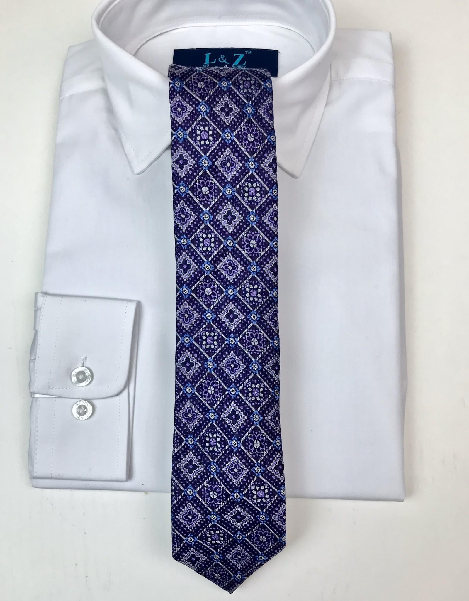 Boys Purple Ties