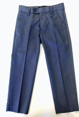 Leo and Zachary Trouser Blue/Grey Stretch 2/3-12