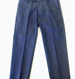 Leo and Zachary Trouser Blue/Grey Stretch 2/3 -12