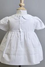 Feltman Dress White pleats with collar Feltman 87402