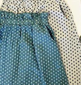 Square Print Womens Skirt