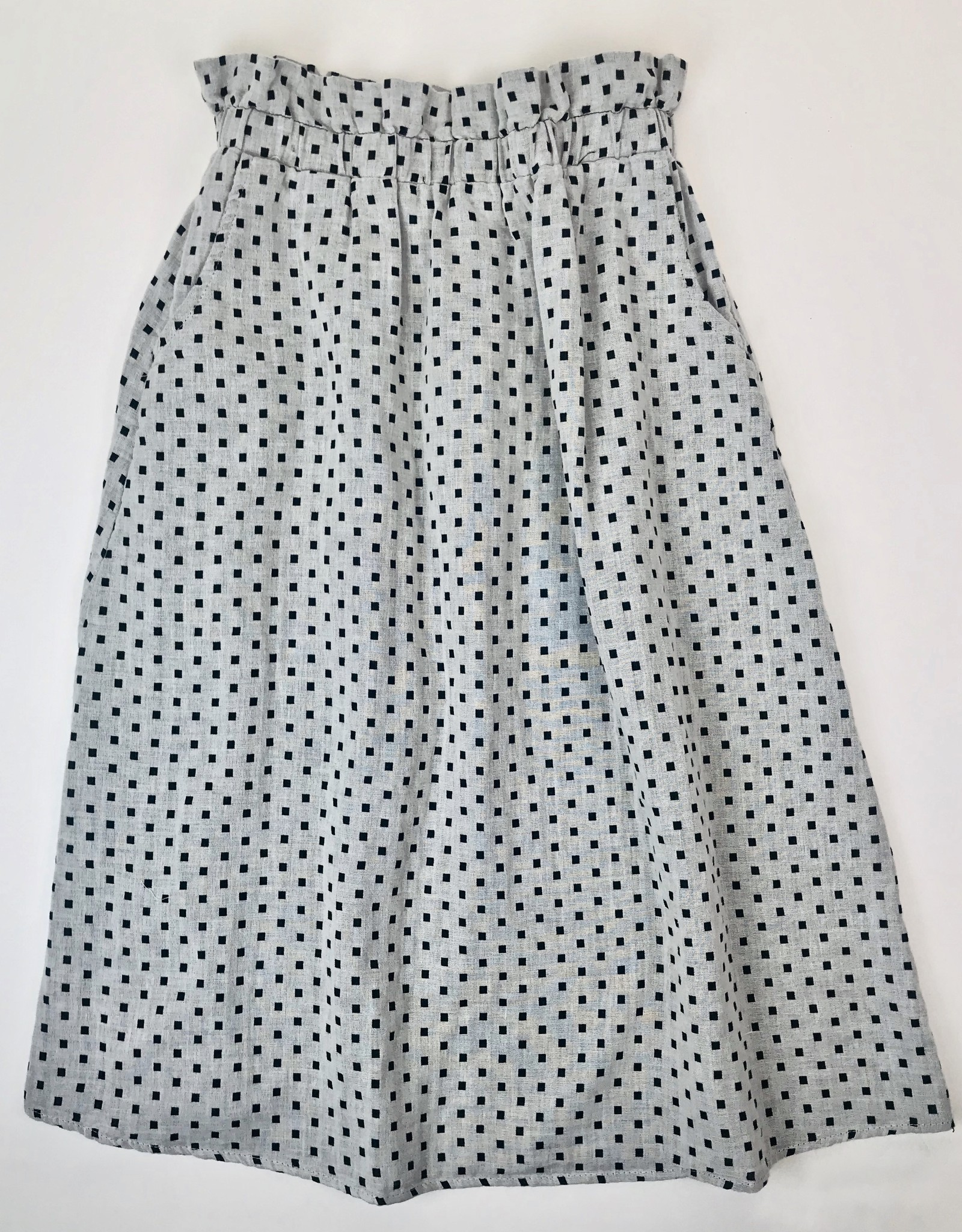 Square Print Womens Skirt
