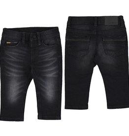 Mayoral Infant Boys Black Vintage Soft Jeans