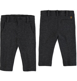 Mayoral Infant Boys Charcoal Tweed Trouser