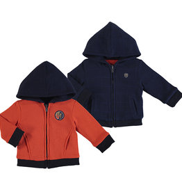 Mayoral Infant Boys Reversible Hoodie Jacket