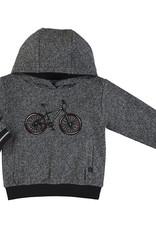 Mayoral Boys Knit Herringbone Bicycle Hoodie
