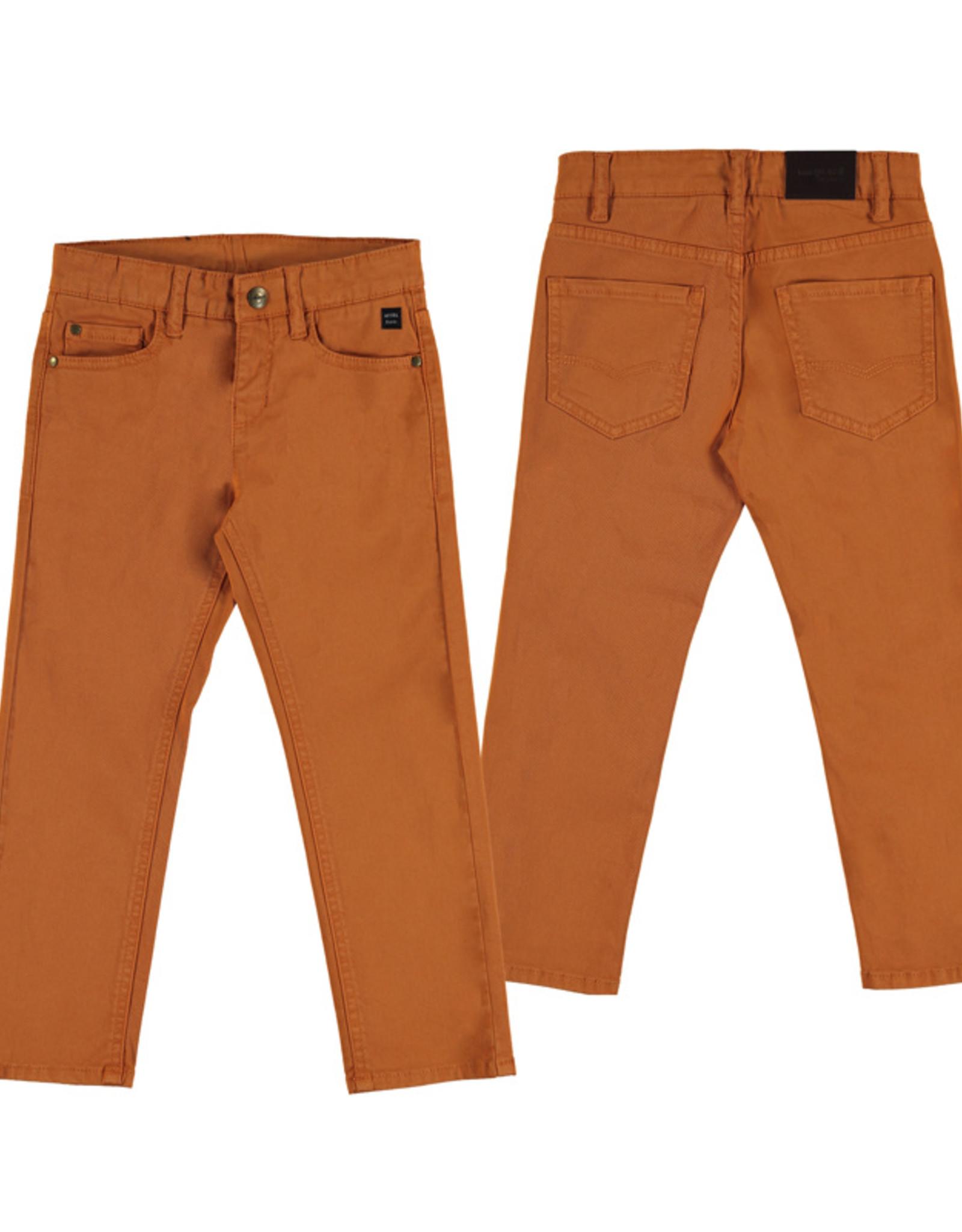 Mayoral Boys Cheddar Twill 5 Pocket Pant