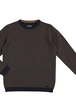 Mayoral Boys Navy Herringbone Crew Sweater