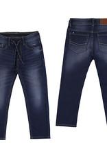 Mayoral Boys Elastic Waist Soft Jeans