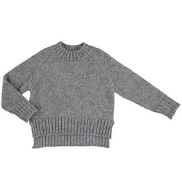 Mayoral Young Girls Grey Mock Turtle Sweater