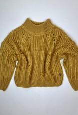 Madison Gold Oversize  Sweater