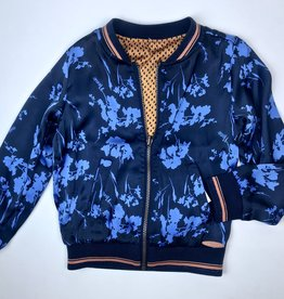 NONO Big Girls Satin Reversible Bomber