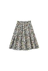 Rylee + Cru Enchanted Garden Tiered Midi Skirt