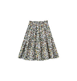 Rylee + Cru Enchanted Garden Tiered Midi Skirt